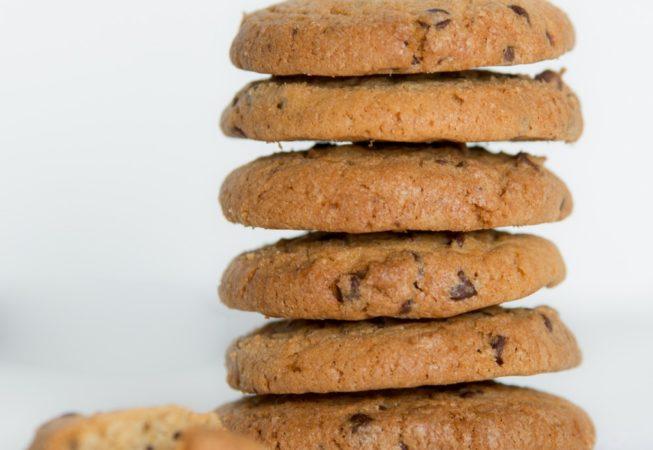 Biscuits artisanaux petit épeautre chocolat/gingembre