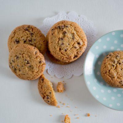 biscuits artisanaux pepites au chocolat