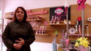 Boutique de la biscuiterie du moulin à Sinsat