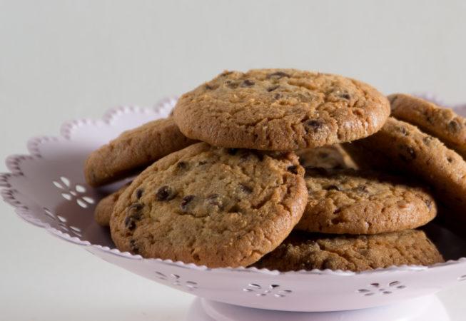 biscuits petit épeautre chocolat