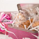 boite metal biscuits du moulin spécialité arègeoise produits du terroir ariege