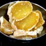 Biscuits artisanaux au gingembre confit