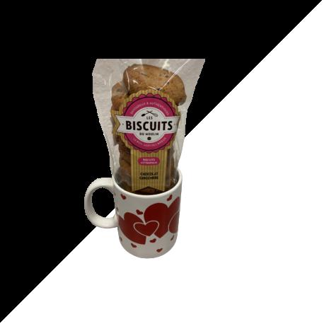 cadeau st Valentin biscuits artisanaux